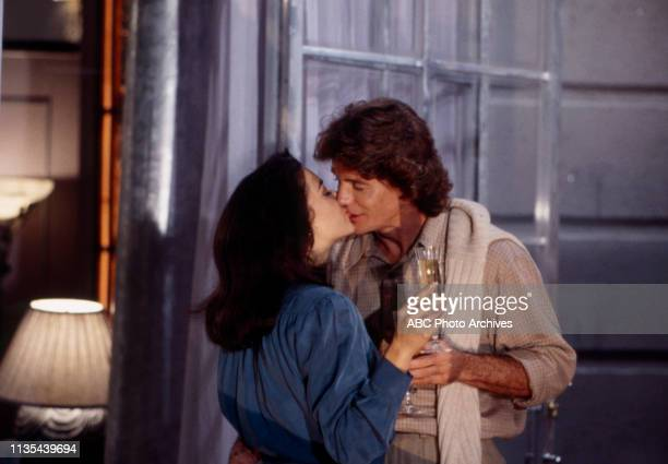 Lisa Peluso Jean Le Clerc appearing on the Walt Disney Television via Getty Images soap opera 'Loving'