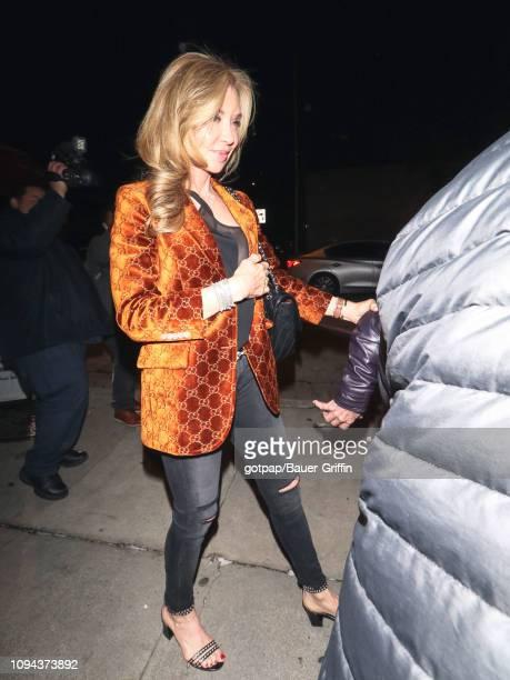 Lisa Pemberton is seen on February 05 2019 in Los Angeles California