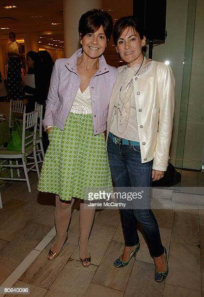 Lisa Perry and Lisa PevaroffCohn attends Spring/Summer 2008 Fashion Presentation Luncheon To Benefit The NYU Child Study Center at Bloomingdales...
