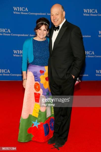 Lisa PevaroffCohn and former White House chief economic advisor Gary Cohn attend the 2018 White House Correspondents' Dinner at Washington Hilton on...