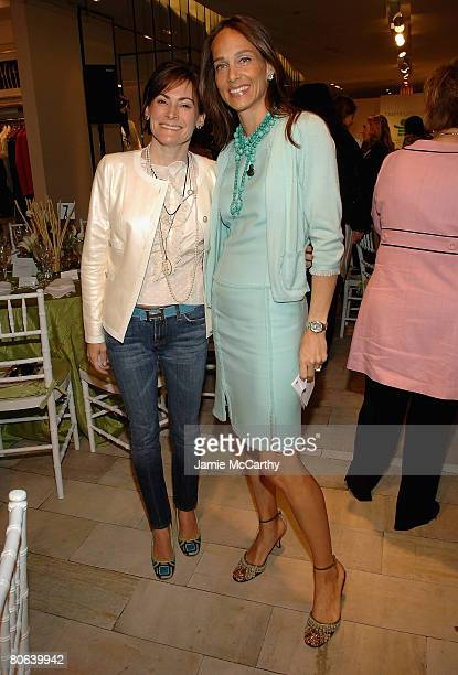 Lisa PevaroffCohn and Marcia Mishaan attends Spring/Summer 2008 Fashion Presentation Luncheon To Benefit The NYU Child Study Center at Bloomingdales...