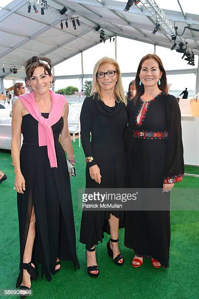 Lisa PevaroffCohn Andrea Ackerman and Judith Giuliani attend the 2016 Hamptons Paddle Party for Pink Benefiting the Breast Cancer Research Foundation...