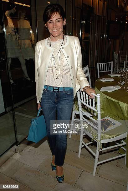 Lisa PevaroffCohn attends Spring/Summer 2008 Fashion Presentation Luncheon To Benefit The NYU Child Study Center at Bloomingdales Designer...