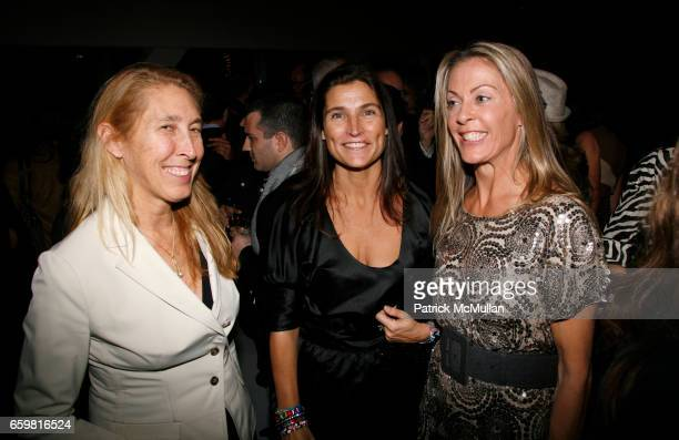 Lisa Phillips Cat Khosrowshahi and Sue Hostetler attend SUE HOSTETLER celebrates the launch of her new book MAJESTIC METROPOLITAN LIVING at New...