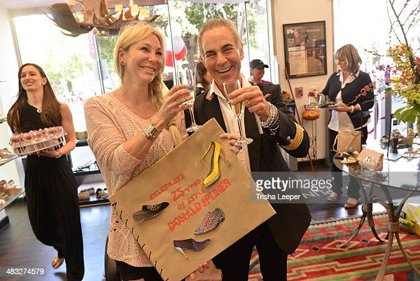 Lisa Pliner and Donald J Pliner attends the Designer Donald J Pliner Celebrates 25th Anniversary at on March 22 2014 in San Jose California