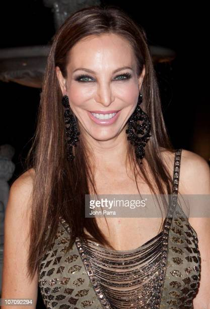 Lisa Pliner arrives at the Roberto Cavalli's 2011 Spring collection fashion show to benefit the Gloria Estefan Foundation and St Jude's Research...