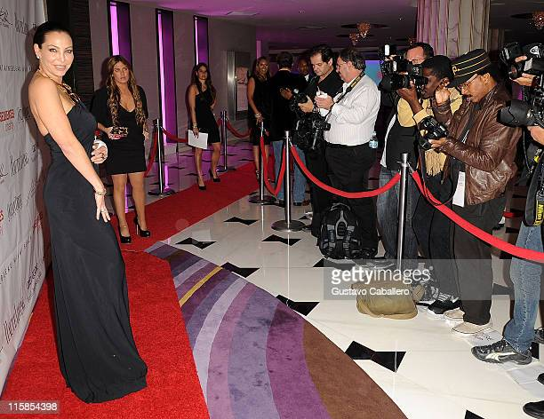 Lisa Pliner attends the 15th Annual Blacks' Charity Gala at Fontainebleau Miami Beach on February 27 2010 in Miami Beach Florida