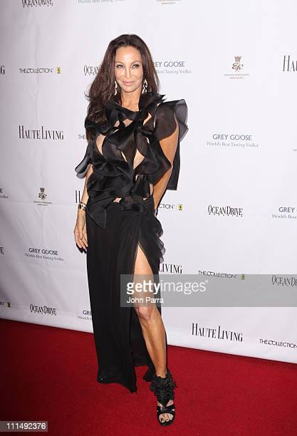Lisa Pliner attends The Blacks Annual Gala at Eden Roc a Renaissance Beach Resort and Spa on April 2 2011 in Miami Beach Florida