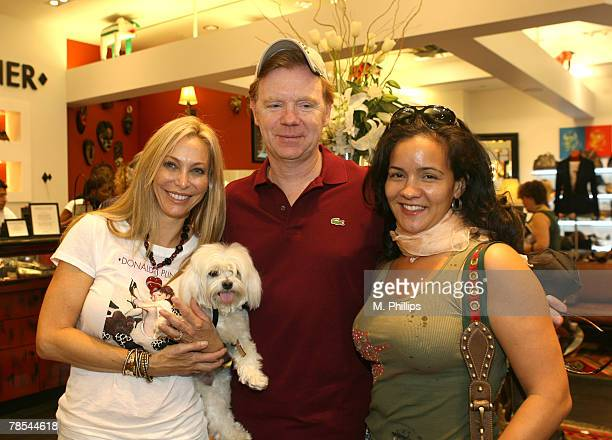 Lisa Pliner David Caruso and Liza Marquez