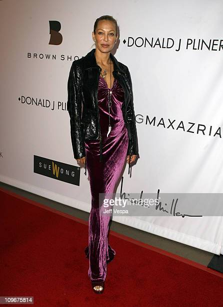 Lisa Pliner during Sharon Stone and Kelly Stone Host the 1st Annual 'Class of Hope Prom 2007' Charity Benefit Red Carpet and Inside at Sportsmen's...