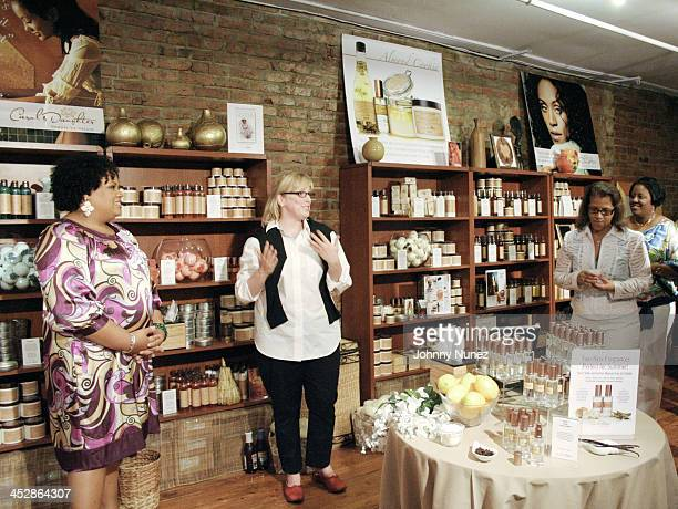 Lisa Price Ali James and Seletha Smith Nagin attend the charity shopping event at Carol's Daughter at the 2008 Essence Music Festival on July 3 2008...