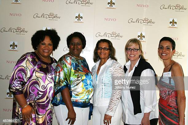 Lisa Price Candice Washington Seletha Smith Nagin Ali James and Lori Haram attend the charity shopping event at Carol's Daughter at the 2008 Essence...