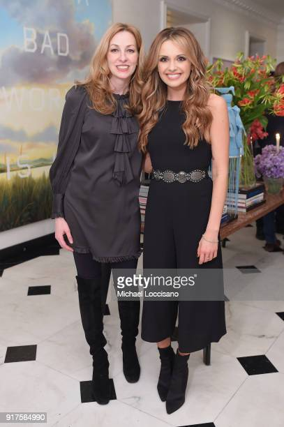 Lisa Purcell and musician Carly Pearce attend the Country Music Hall Of Fame And Museum Reception With Carly Pearce For All For The Hall New York on...
