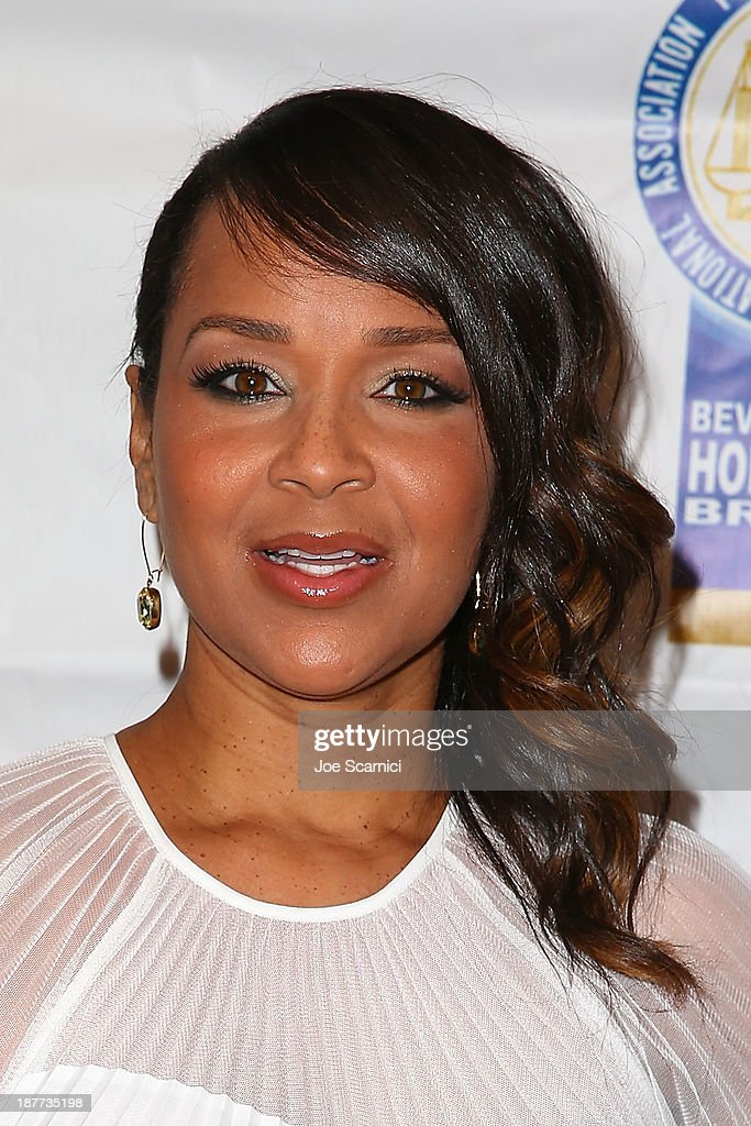 Lisa Raye McCoy arrives at the 23rd annual NAACP Theatre Awards at Saban Theatre on November 11, 2013 in Beverly Hills, California.