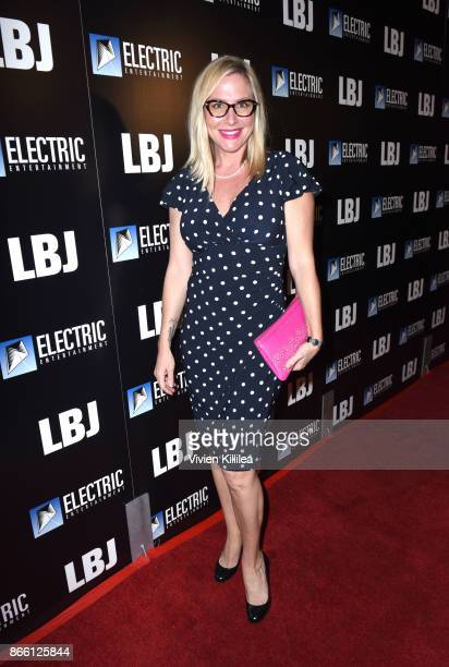 Lisa Reyes attends the Los Angeles Premiere of LBJ at ArcLight Hollywood on October 24 2017 in Hollywood California