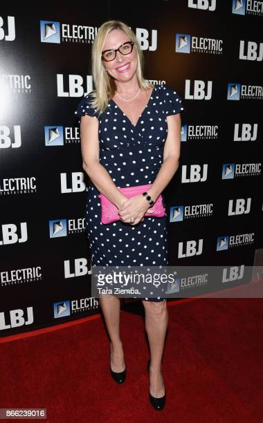 Lisa Reyes attends the Los Angeles Premiere of 'LBJ' at ArcLight Hollywood on October 24 2017 in Hollywood California