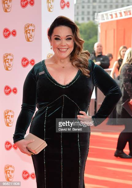 Lisa Riley attends the Virgin TV British Academy Television Awards at The Royal Festival Hall on May 13 2018 in London England