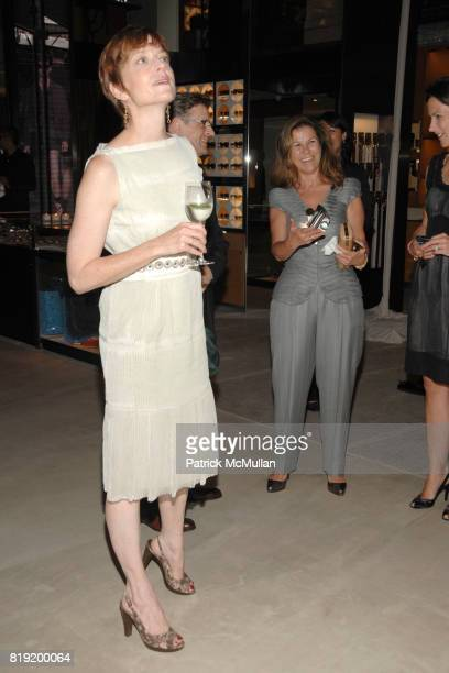 Lisa Rinehart attends Salon de Louis Vuitton honoring Mikhail Baryshnikov at Louis Vuitton Maison on July 6 2010 in New York City