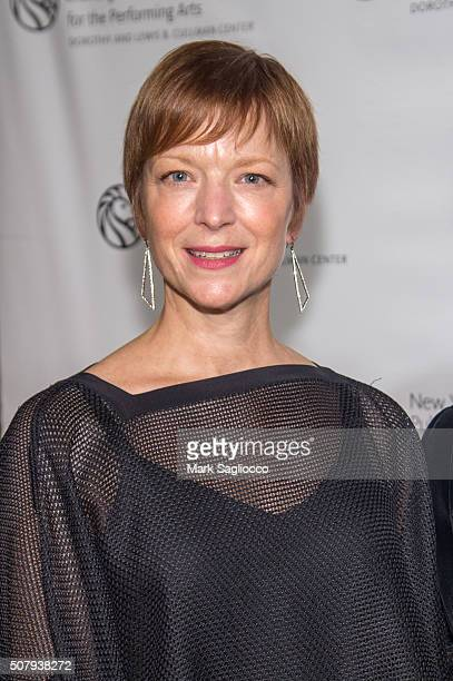 Lisa Rinehart attends the The New York Public Library For The Performing Arts' 50th Anniversary Gala at The New York Public Library Stephen A...