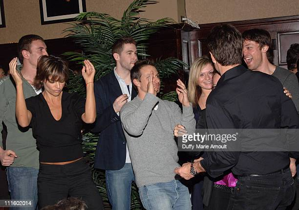 Lisa Rinna and Drew Lachey during Noel Ashman Throws Party for Joey McIntyre Celebrating the Release of His New Album Talk to Me and Dancing with the...