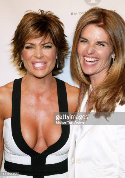 Lisa Rinna and First Lady Maria Shriver during Phase One Celebrates Their 7th Annual Fundraiser for Cancer Research Arrivals at Regent Beverly...