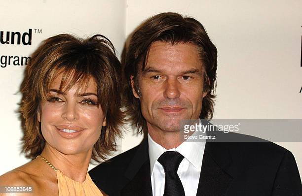 Lisa Rinna and Harry Hamlin during Saks Fifth Avenue's Unforgettable Evening Benefiting Women's Cancer Research Fund Arrivals at The Beverly Wilshire...