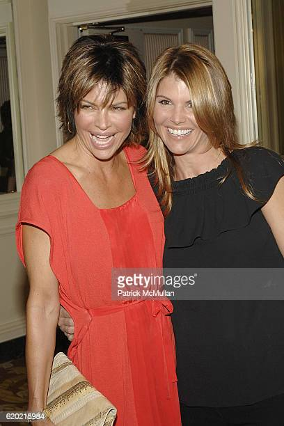 Lisa Rinna and Lori Loughlin attend Saks Fifth Avenue Champions of Children Award at the 20th Annual Colleagues Spring Luncheon at Beverly Whilshire...
