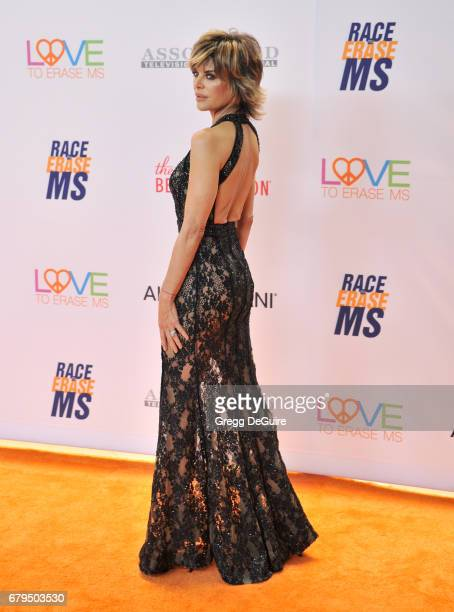 Lisa Rinna arrives at the 24th Annual Race To Erase MS Gala at The Beverly Hilton Hotel on May 5 2017 in Beverly Hills California