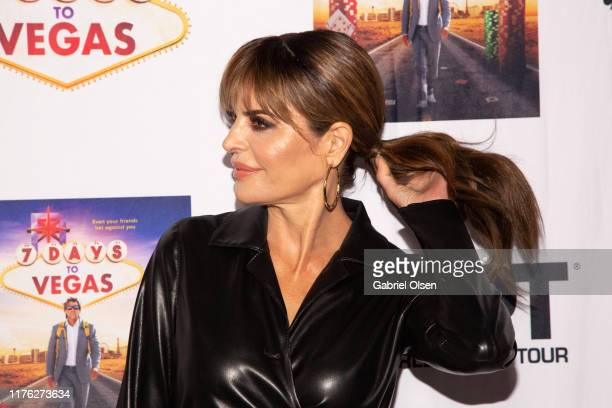 """LIsa Rinna arrives for the LA Premiere Of """"7 Days To Vegas"""" at Laemmle Music Hall on September 21, 2019 in Beverly Hills, California."""