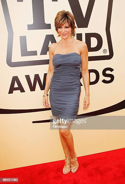 Lisa Rinna arrives to the 8th Annual TV Land Awards held at Sony Pictures Studios on April 17 2010 in Culver City California