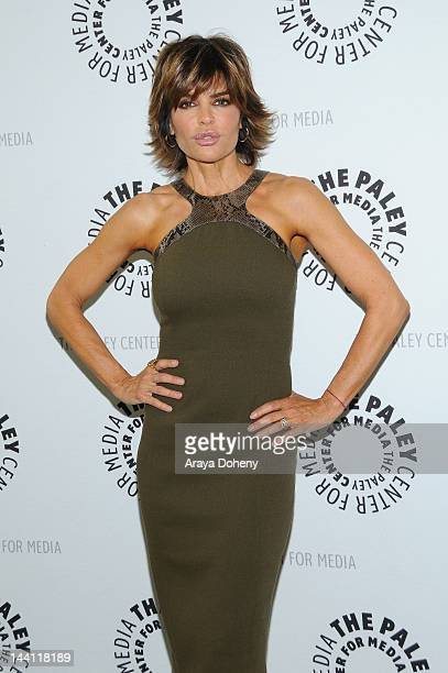 Lisa Rinna arrives wearing Michael Kors at the Paley Center for Media presents an evening with 'Days Of Our Lives' at The Paley Center for Media on...