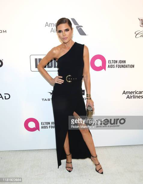 Lisa Rinna attends 27th Annual Elton John AIDS Foundation Academy Awards Viewing Party Celebrating EJAF And The 91st Academy Awards on February 24...