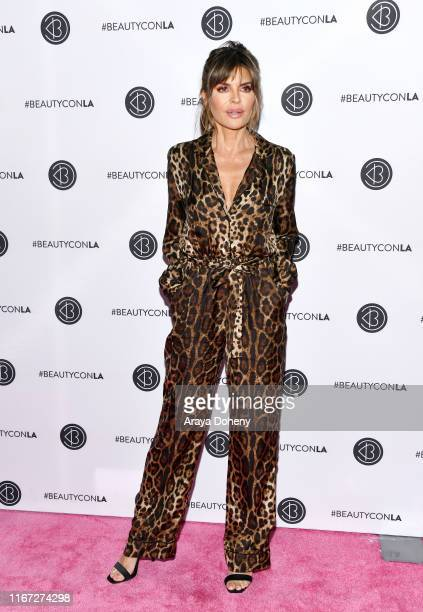 Lisa Rinna attends Beautycon Festival Los Angeles 2019 at Los Angeles Convention Center on August 10 2019 in Los Angeles California