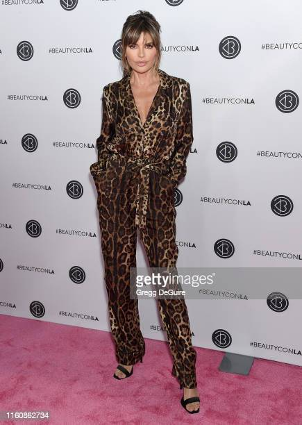 Lisa Rinna attends Beautycon Los Angeles 2019 Pink Carpet at Los Angeles Convention Center on August 10, 2019 in Los Angeles, California.