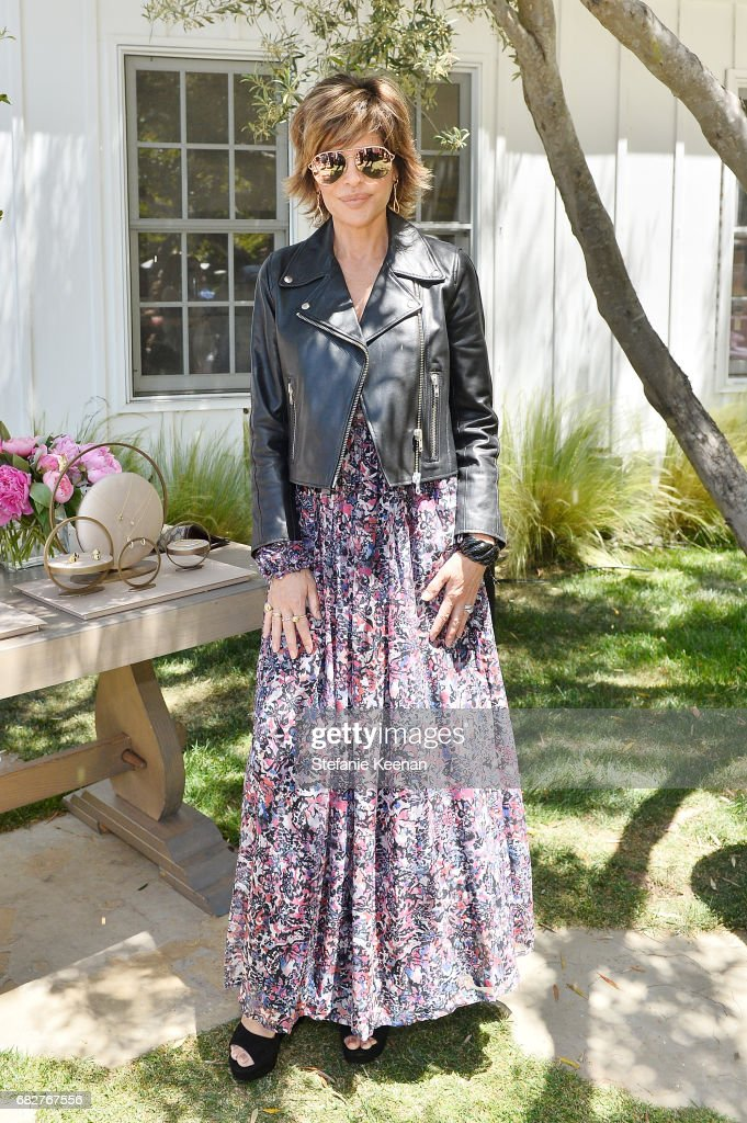 Lisa Rinna attends Cindy Crawford and Kaia Gerber host Best Buddies Mother's Day Brunch in Malibu, CA sponsored by David Yurman on May 13, 2017 in Malibu, California.