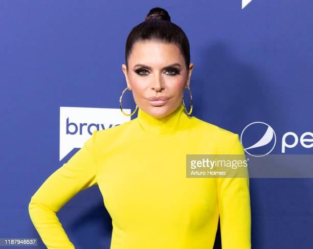 Lisa Rinna attends opening night of the 2019 BravoCon at Hammerstein Ballroom on November 15, 2019 in New York City.