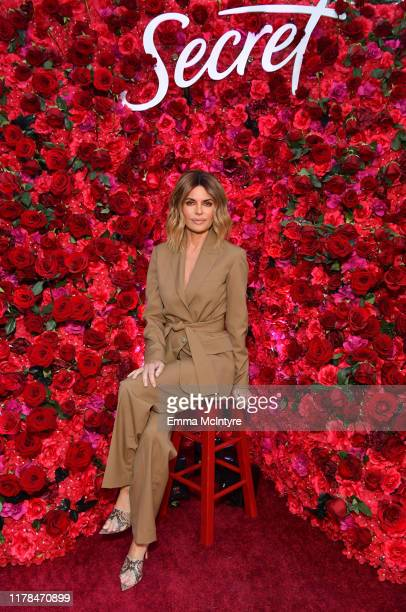 Lisa Rinna attends 'Secret with Essential Oils' Launch Party at Villa 2024 on October 01, 2019 in Beverly Hills, California.