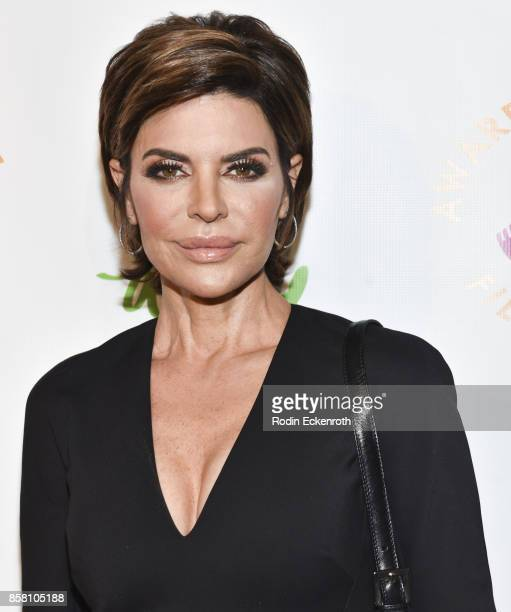 Lisa Rinna attends the 2017 Awareness Film Festival Opening Night Premiere of 'The Road to Yulin and Beyond' at Regal LA Live Stadium 14 on October 5...