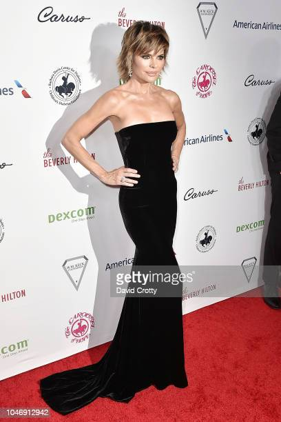 Lisa RInna attends the 2018 Carousel Of Hope Ball at The Beverly Hilton Hotel on October 6 2018 in Beverly Hills California