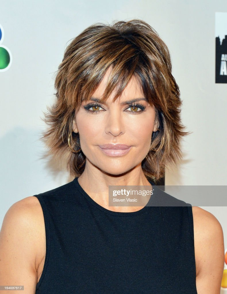 Lisa Rinna attends the 'Celebrity Apprentice All Stars' Season 13 Press Conference at Jack Studios on October 12, 2012 in New York City.