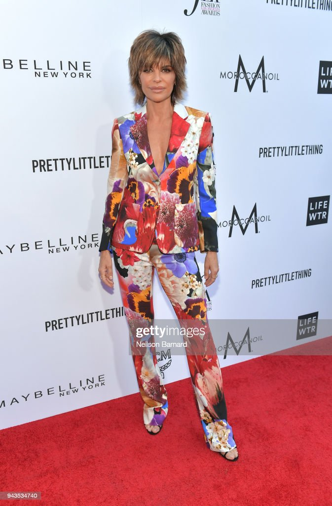 Lisa Rinna attends The Daily Front Row's 4th Annual Fashion Los Angeles Awards at Beverly Hills Hotel on April 8, 2018 in Beverly Hills, California.