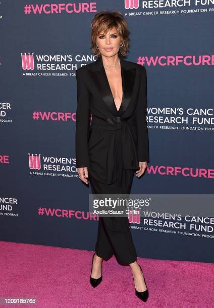 Lisa Rinna attends The Women's Cancer Research Fund's An Unforgettable Evening 2020 at Beverly Wilshire, A Four Seasons Hotel on February 27, 2020 in...