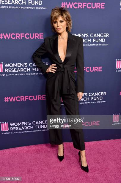 """Lisa Rinna attends WCRF's """"An Unforgettable Evening"""" at Beverly Wilshire, A Four Seasons Hotel on February 27, 2020 in Beverly Hills, California."""
