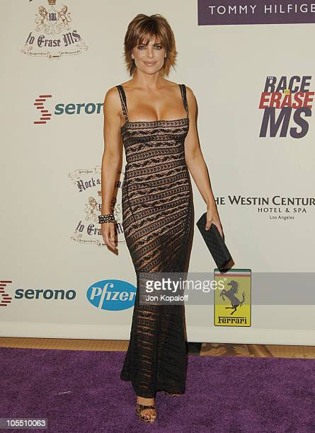 "Lisa Rinna during 12th Annual Race to Erase MS Themed ""Rock & Royalty to Erase MS"" - Arrivals at The Westin Century Plaza Hotel & Spa in Los Angeles,..."