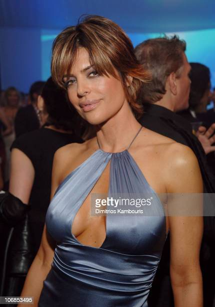 Lisa Rinna during 13th Annual Elton John AIDS Foundation Oscar Party Cohosted by Chopard After Party at Pacific Design Center in West Hollywood...