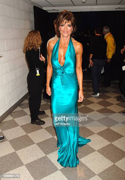 Lisa Rinna during 2006 CMT Music Awards Backstage and Audience at Curb Events Center at Belmont University in Nashville Tennessee United States