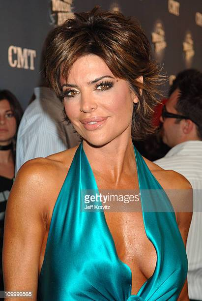 Lisa Rinna during 2006 CMT Music Awards Red Carpet at Curb Events Center at Belmont University in Nashville Tennessee United States