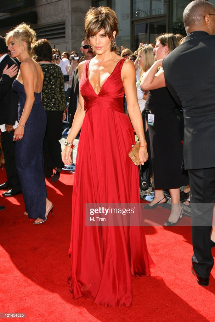 Lisa Rinna during 34th Annual Daytime Emmy Awards - Arrivals at Kodak Theatre in Hollywood, California, United States.