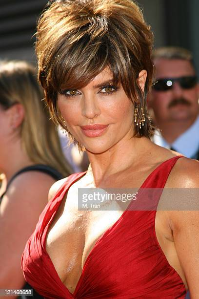 Lisa Rinna during 34th Annual Daytime Emmy Awards Arrivals at Kodak Theatre in Hollywood California United States