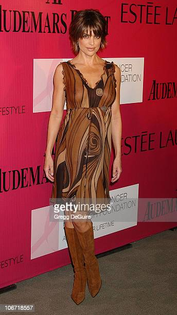 Lisa Rinna during Audemars Piguet 'Promesse to Win' Breast Cancer Research Foundation Benefit Arrivals at Astra West in West Hollywood California...